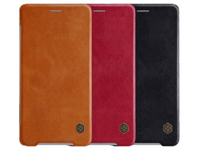 کیف چرمی نیلکین سونی Nillkin Qin Leather Case Sony Xperia XZ2 Premium