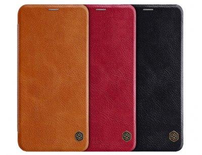 کیف چرمی نیلکین هواوی Nillkin Qin Leather Case Mate 20 Lite