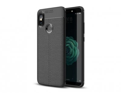 قاب ژله ای طرح چرم شیائومی Auto Focus Case Xiaomi Mi A2/ Mi 6X