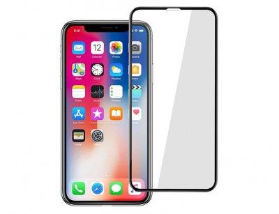 محافظ صفحه نمایش شیشه ای تمام چسب آیفون Full Glass Screen Protector Apple iphone XR
