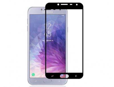 محافظ صفحه نمایش شیشه ای تمام چسب سامسونگ Full Glass TT Screen Protector Samsung Galaxy J4