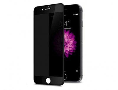 محافظ صفحه نمایش شیشه ای تمام چسب حفظ حریم شخصی آیفون Privacy Full Glass Screen Protector Apple iphone 8/7