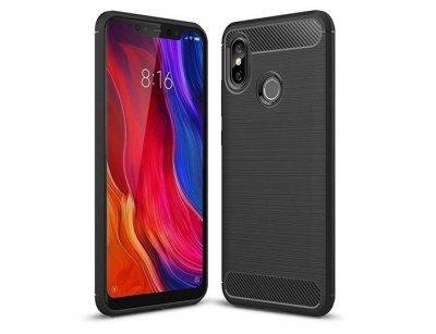 محافظ ژله ای شیائومی Carbon Fibre Case Xiaomi Mi 8