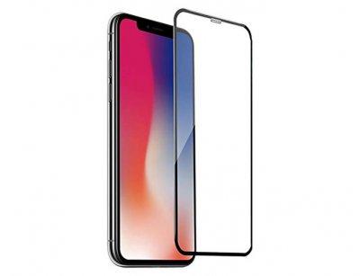 محافظ صفحه نمایش شیشه ای تمام چسب ضد اشعه آیفون Anti Blue Full Glass Screen Protector Apple iphone X