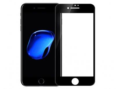 محافظ صفحه نمایش شیشه ای تمام چسب آیفون Full Glass 2.5D Screen Protector Apple iphone 8 Plus/7 Plus
