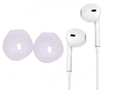 سری سیلیکونی هندزفری آیفون Apple Earpod Silicone Earbuds