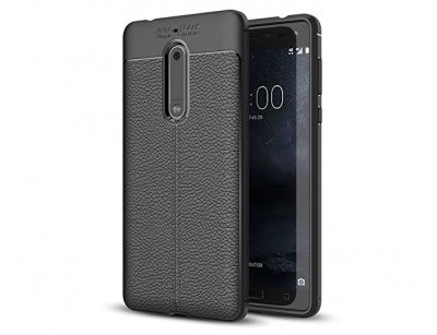 قاب ژله ای طرح چرم نوکیا Becation Auto Focus Case Nokia 5