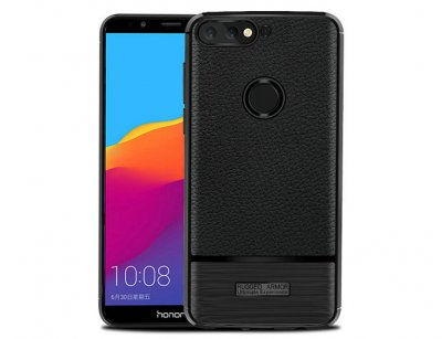 قاب ژله ای طرح چرم هواوی Becation Ruged Armor Case Huawei Y7 Prime 2018/Nova 2 Lite