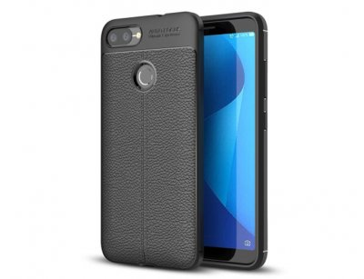 قاب ژله ای طرح چرم ایسوس Auto Focus Jelly Case Asus Zenfone Max Plus (M1) ZB570TL