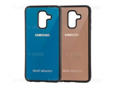 قاب محافظ آینه ای سامسونگ Mirror Case Samsung Galaxy A6 Plus 2018