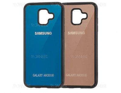 قاب محافظ آینه ای سامسونگ Mirror Case Samsung Galaxy A6 2018