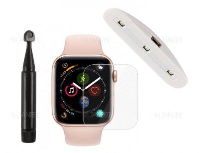 محافظ صفحه نمایش شیشه ای یو وی اپل واچ RG UV Glass Apple Watch 42mm