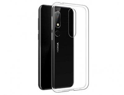 محافظ ژله ای 5 گرمی نوکیا Nokia 6.1 Plus /Nokia X6 Jelly Cover 5gr