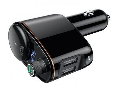 شارژر فندکی با قابلیت پخش موسیقی و تماس Baseus Locomotive Bluetooth MP3 Vehicle Charger