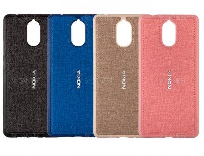 قاب محافظ طرح پارچه ای نوکیا Protective Cover Nokia 3.1