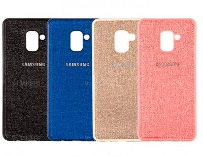 قاب محافظ طرح پارچه ای سامسونگ Protective Cover Samsung Galaxy J6