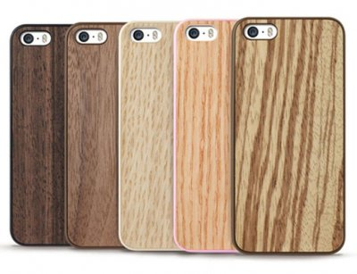 قاب محافظ چوبی اوزاکی آیفون Ozaki Wood Case iPhone 5/5S