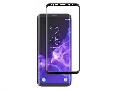 محافظ صفحه نمایش شیشه ای تمام صفحه سامسونگ Full Glass Screen Samsung Galaxy S9 Plus