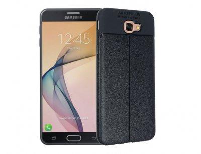 قاب ژله ای طرح چرم سامسونگ Auto Focus Jelly Case Samsung Galaxy J7 Prime 2 2018
