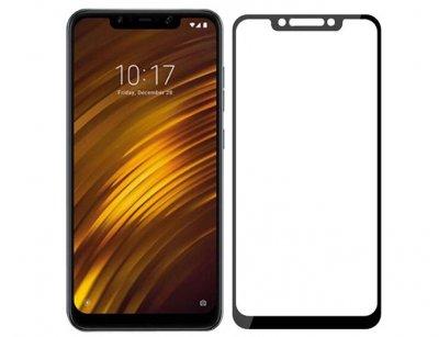 محافظ صفحه نمایش شیشه ای تمام چسب شیائومی Full Glass TT Screen Protector Xiaomi Pocophone F1