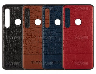قاب چرمی سامسونگ Lishen Leather Case Samsung Galaxy A9 2018