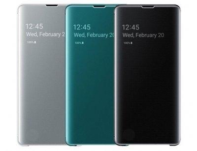 کیف هوشمند اصلی سامسونگ اس 10پلاس Samsung S10 Plus Clear View Cover