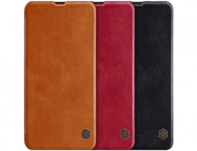 کیف چرمی نیلکین سامسونگ Nillkin Qin leather case Samsung Galaxy A20/A30