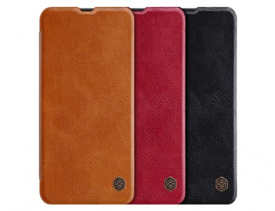 کیف چرمی نیلکین سامسونگ Nillkin Qin leather case Samsung Galaxy A50/A50s/A30s