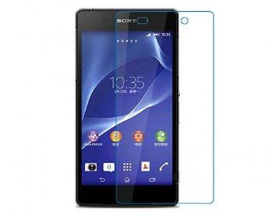 محافظ صفحه نمایش شیشه ای سونی Glass Screen Protector Sony Xperia Z2