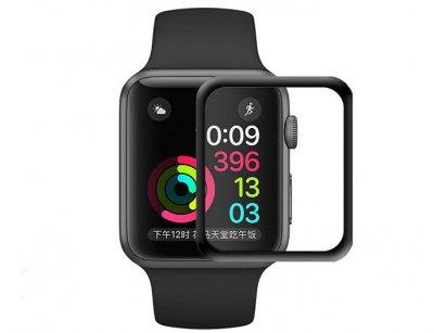 محافظ صفحه نمایش شیشه ای تمام چسب اپل واچ Blueo Glass Apple Watch 40mm