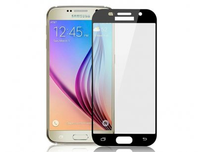 محافظ صفحه نمایش شیشه ای تمام چسب سامسونگ 3D Glass Samsung Galaxy A5 2017