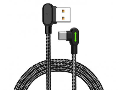 کابل تایپ سی Mcdodo 90 Light Type-C Cable 1.8m