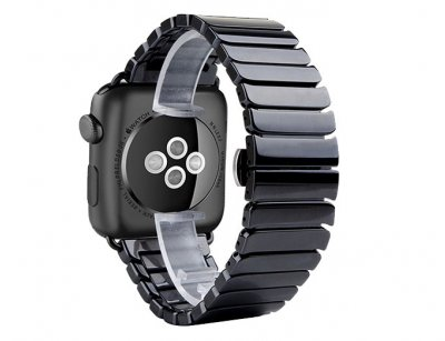 بند سرامیکی اپل واچ Apple Watch Link Bracelet Ceramic Band 42/44mm