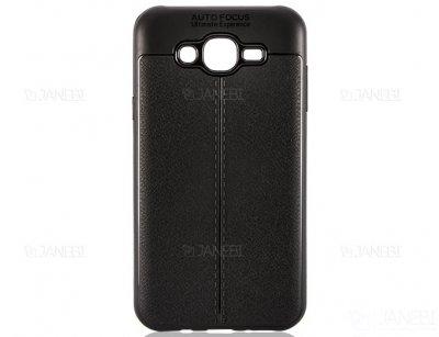 قاب ژله ای طرح چرم سامسونگ Auto Focus Jelly Case Samsung Galaxy J7