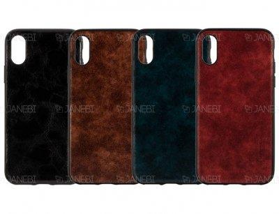 قاب چرمی آیفون KSTDesign Leather Case Apple iPhone X/XS