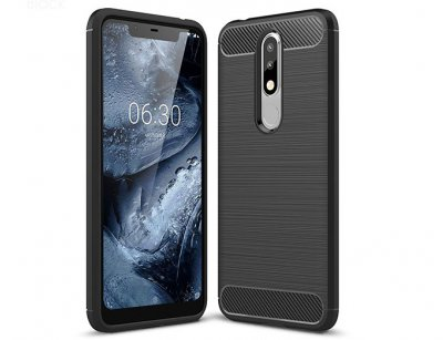 محافظ ژله ای نوکیا Carbon Fibre Case Nokia 5.1 Plus /Nokia X5