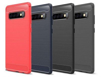 محافظ ژله ای سامسونگ Carbon Fibre Case Samsung Galaxy S10