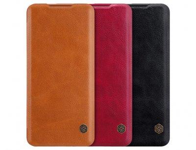 کیف چرمی نیلکین وان پلاس Nillkin Qin Leather Case OnePlus 7 Pro