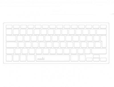 محافظ کیبورد موشی مک بوک Moshi Clearguard 11 MacBook Air 11