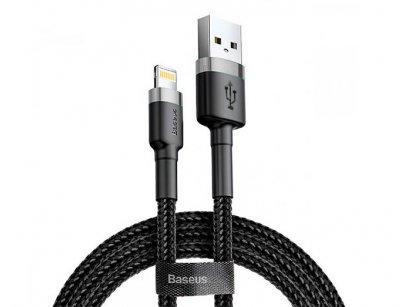 کابل شارژ و انتقال داده لایتنینگ بیسوس Baseus Cafule Lightning Cable 2m 1.5A