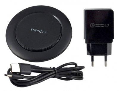 پک شارژر وایرلس رومیزی سریع انرژیا Energea WiDisc 75 Fast Wireless Charger Kit