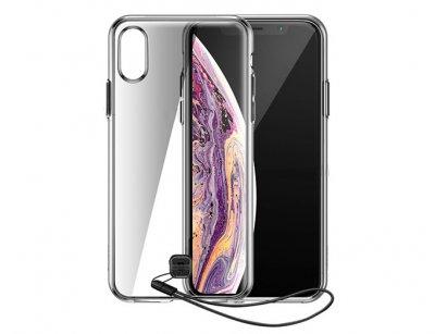 قاب محافظ بیسوس آیفون Baseus Keywith Hange Case Apple iPhone XS Max