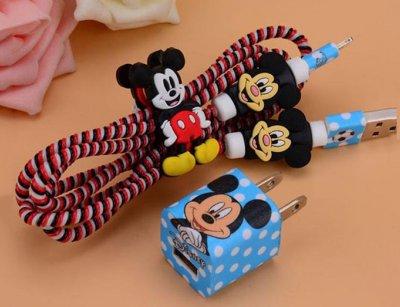 پک محافظ کابل شارژ آیفون میکی موس Charger Protector Pack Mickey Mouse