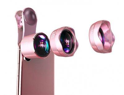 لنز فیش آی و واید ماکرو گوشی موبایل لی کیو آی Lieqi LQ-183 Wide Angle & Macro & Fisheye Lens