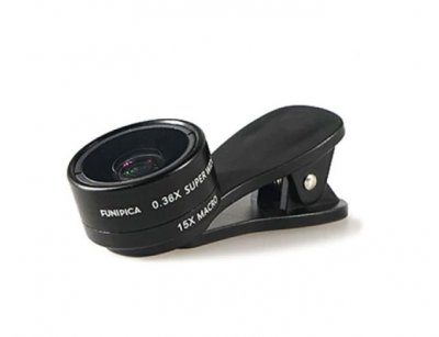 لنز واید ماکرو گوشی موبایل لی کیو آی Lieqi F-515 Wide Angle & Macro Lens