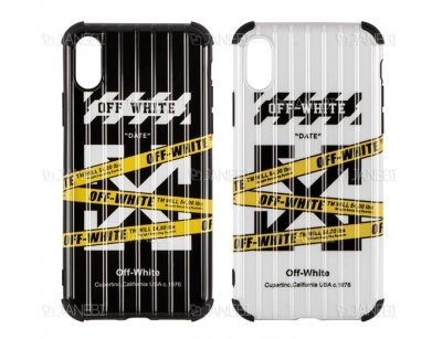 قاب ژله ای آیفون Off White Case Apple iPhone X/XS