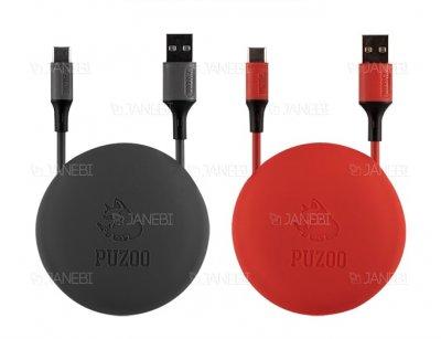 کابل شارژ و انتقال داده تایپ سی Puzoo Sport Series Data Cable 1m