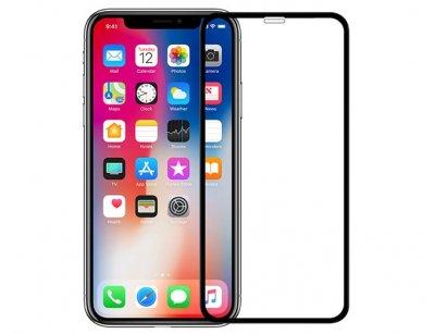 محافظ صفحه نمایش شیشه ای تمام صفحه آیفون D+ Full Glass Apple iPhone X/XS