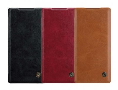 کیف چرمی نیلکین سامسونگ Nillkin Qin Leather Case Samsung Galaxy Note 10 Plus