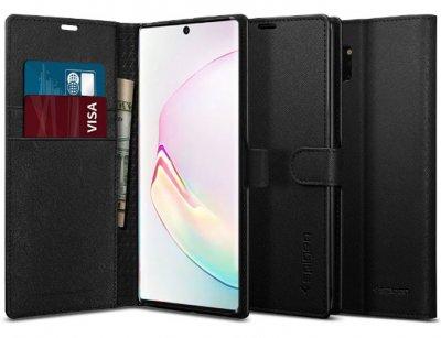 کیف محافظ اسپیگن سامسونگ Spigen Wallet S Case Samsung Galaxy Note 10 Plus